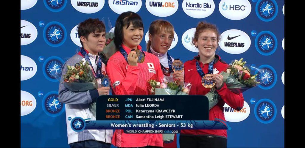 Foto Молдавские спортсменки завоевали золото и серебро на чемпионате мира по вольной борьбе 4 17.10.2021
