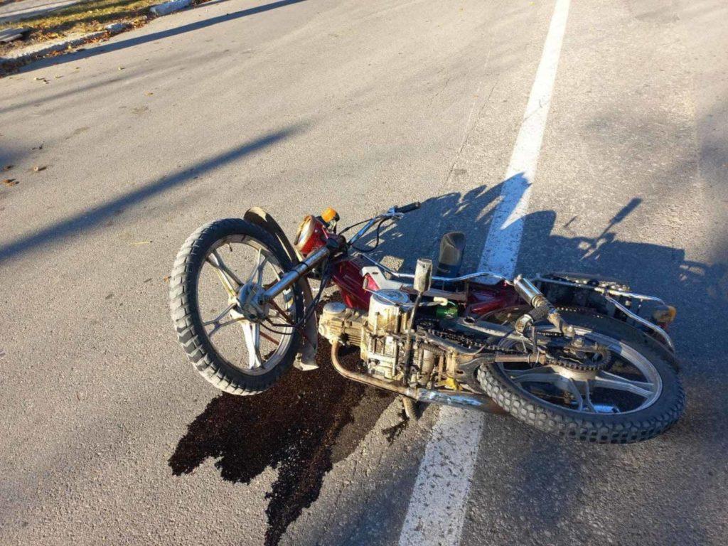Foto /FOTO/ Într-o singură zi trei accidente cu implicarea motocicletelor s-au produs în orașele din nordul țării 2 27.10.2021