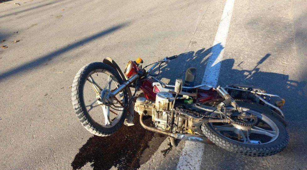 Foto Accident fatal în raionul Dondușeni. Un motociclist s-a tamponat într-un pilon electric 1 27.10.2021