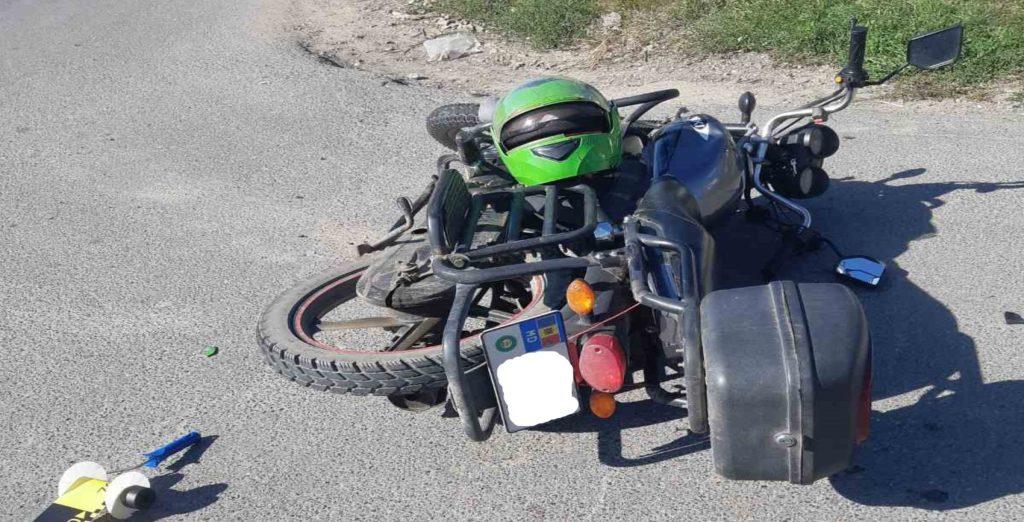 Foto /FOTO/ Într-o singură zi trei accidente cu implicarea motocicletelor s-au produs în orașele din nordul țării 4 27.10.2021