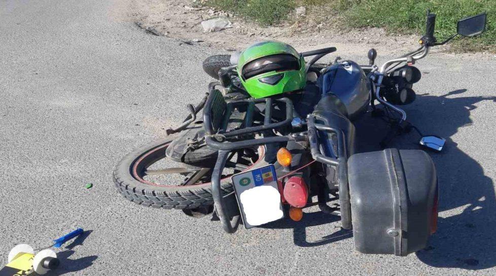 Foto /FOTO/ Într-o singură zi trei accidente cu implicarea motocicletelor s-au produs în orașele din nordul țării 1 27.10.2021