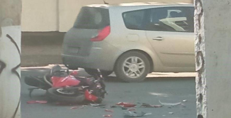Foto /FOTO/ Într-o singură zi trei accidente cu implicarea motocicletelor s-au produs în orașele din nordul țării 6 27.10.2021