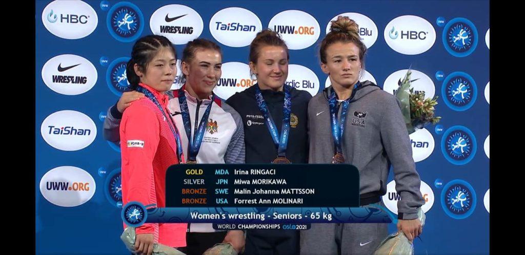 Foto Молдавские спортсменки завоевали золото и серебро на чемпионате мира по вольной борьбе 3 17.10.2021