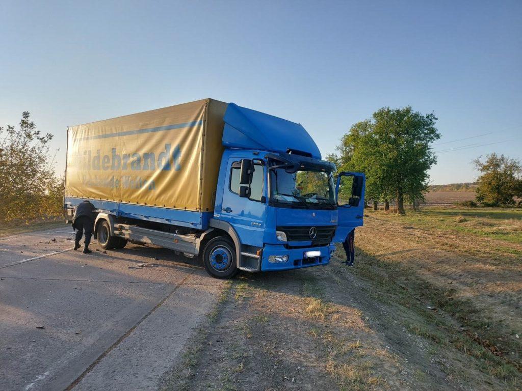 Foto /FOTO/ Accident violent în raionul Sîngerei. Trei persoane transportate la spital 2 17.10.2021
