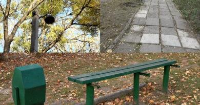 Foto /ВИДЕО/ Разбитые дорожки, отсутствие света и лавочек: бельчане жалуются на состояние местных парков 4 27.10.2021