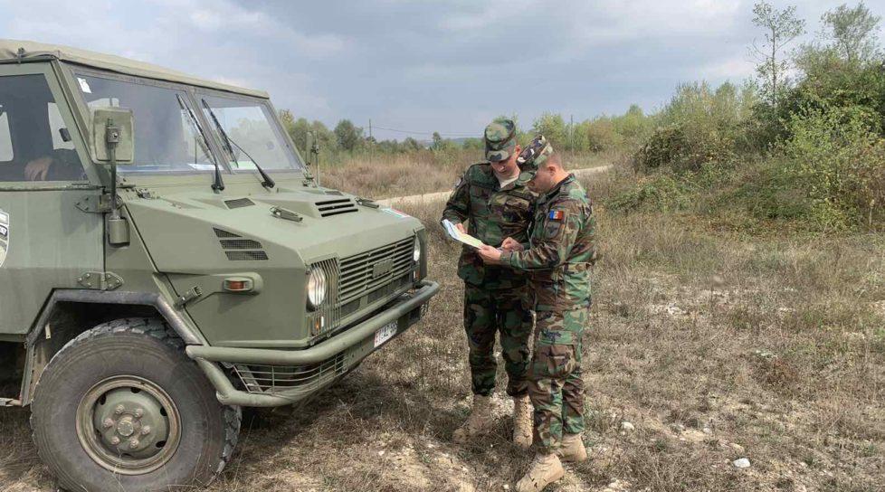 Foto /FOTO/ Militarii Armatei Naționale, detașați în operațiunea KFOR din Kosovo, își continuă misiunile 1 27.10.2021