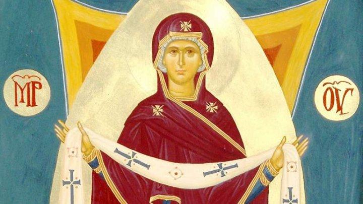 Creștinii ortodocși de stil vechi prăznuiesc Acoperământul Maicii Domnului