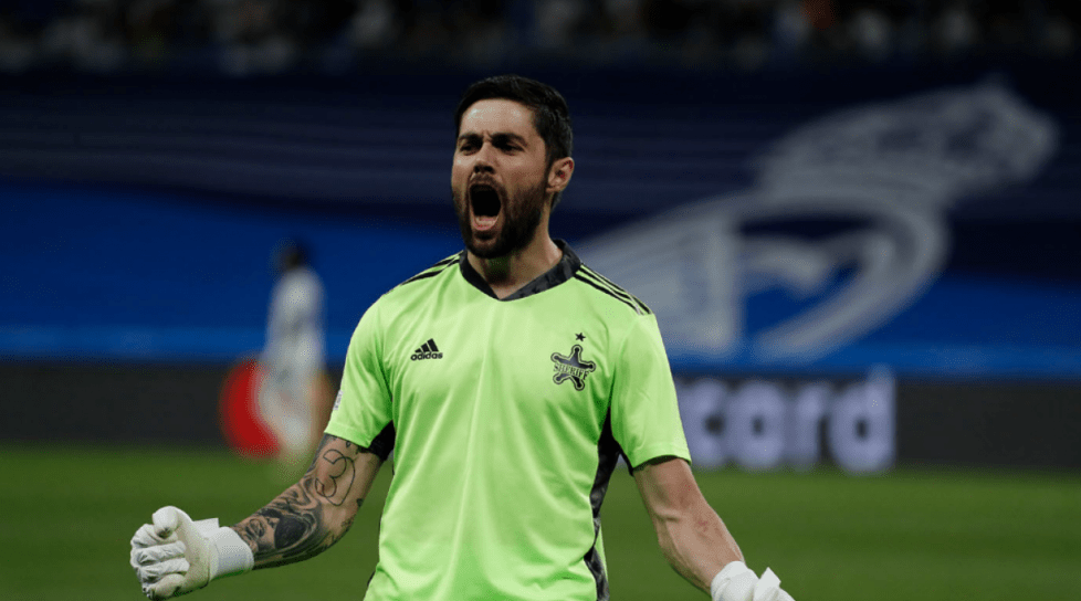 Portarul echipei Sheriff a fost ales jucătorul săptămânii în UEFA Champions League