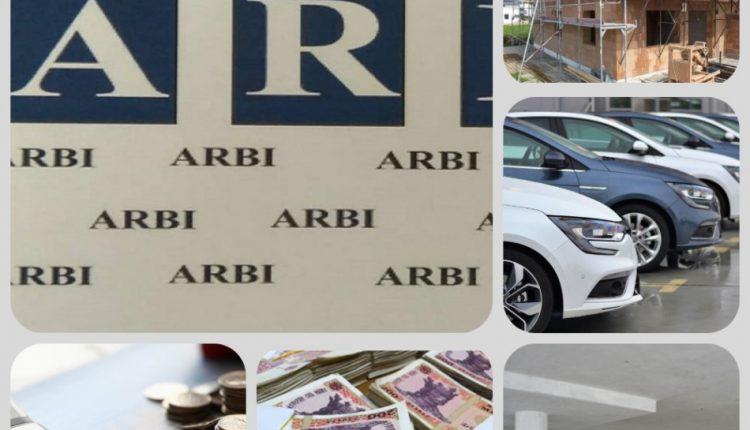 Dosarele fraudei bancare: Bunuri în valoare de circa 26 de milioane de lei sechestrate de ARBI