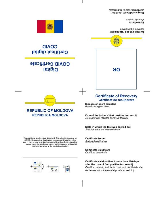 Foto Как будут выглядеть молдавские цифровые сертификаты COVID-19 3 27.10.2021