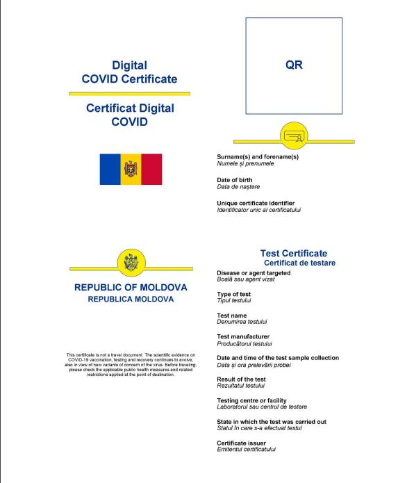 Foto Как будут выглядеть молдавские цифровые сертификаты COVID-19 2 27.10.2021