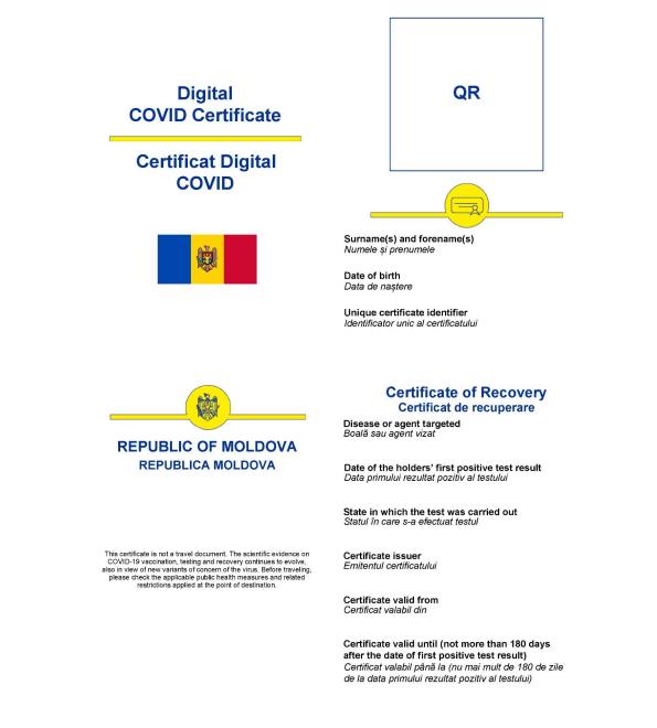 Foto Как будут выглядеть молдавские цифровые сертификаты COVID-19 4 27.10.2021