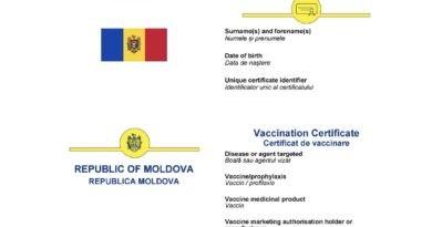 Foto Республикой Молдова, будет эквивалентен сертификату, выданному странами ЕС, после утверждения Европейской Комиссией 2 27.10.2021